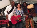 Marsha and the Positrons (Wardell Howell & Kweku Owusu) at Atlas Performing Arts Center
