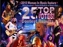 Bridget Kelly Band comes in number 3!!!!! 2015 Women in Music! Blues E News Magazine