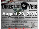 Direct to Vets - a great cause - August 20, 2016
