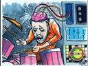 Len Peralta drawing of Bryan (www.monsterbymail.com)