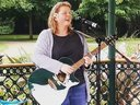 Anne Sumner live at Wandle in the Park, Croydon, 4 June 2016