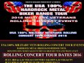 BANDS EVERYWHERE GET ON THIS TOUR www.usa100hrmbbtour.com https://www.usa100rollingconcerttourevents