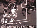 "LOGO FOR ""KNEE MAIL"""