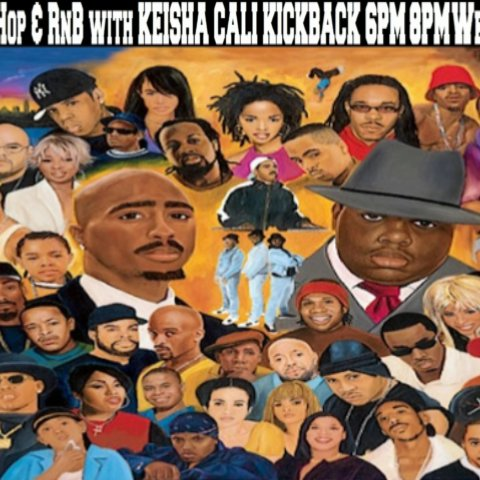 90s Hip-hop and Rnb Clean with KEISHA CALI KICKBACK Wed From