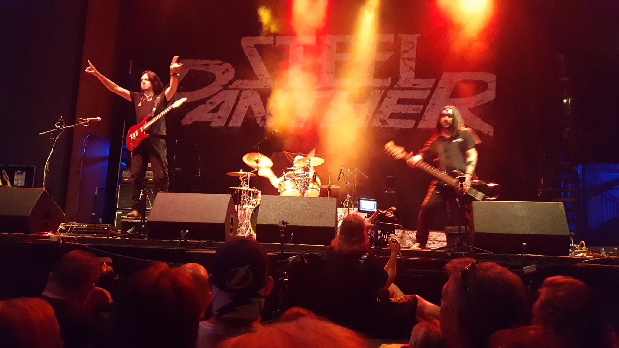 Jannus Live opening for Steel Panther