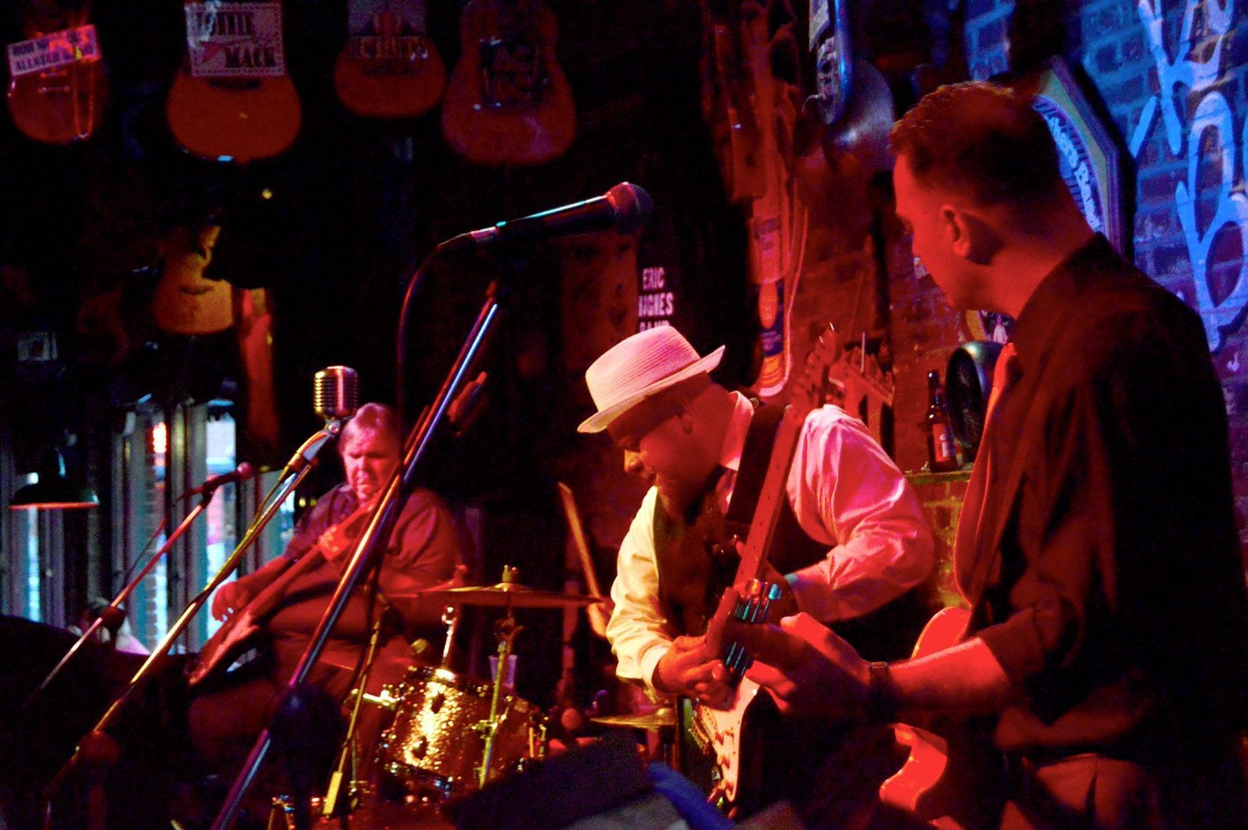 Eric Hughes Band plays the world-famous Rum Boogie Cafe on Beale Street every Monday 8pm