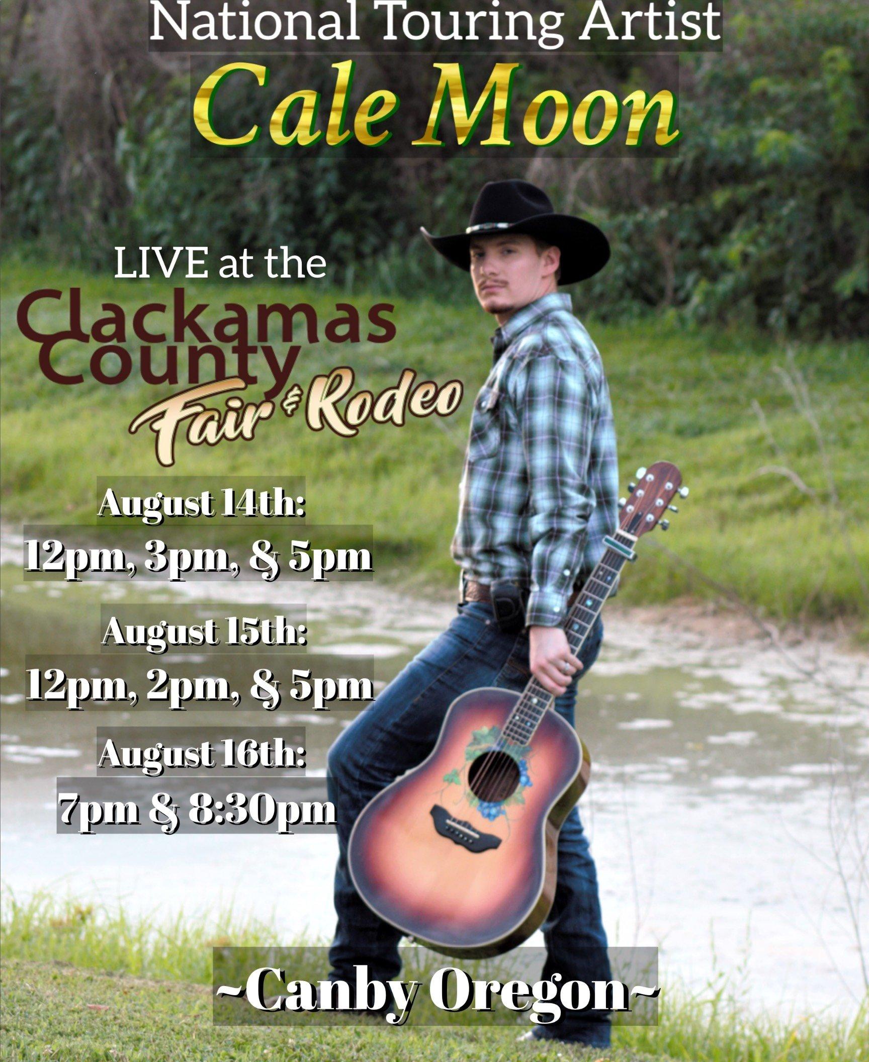 2018 Clackamas County Fair Poster