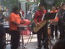 hand percussions with Latin Band