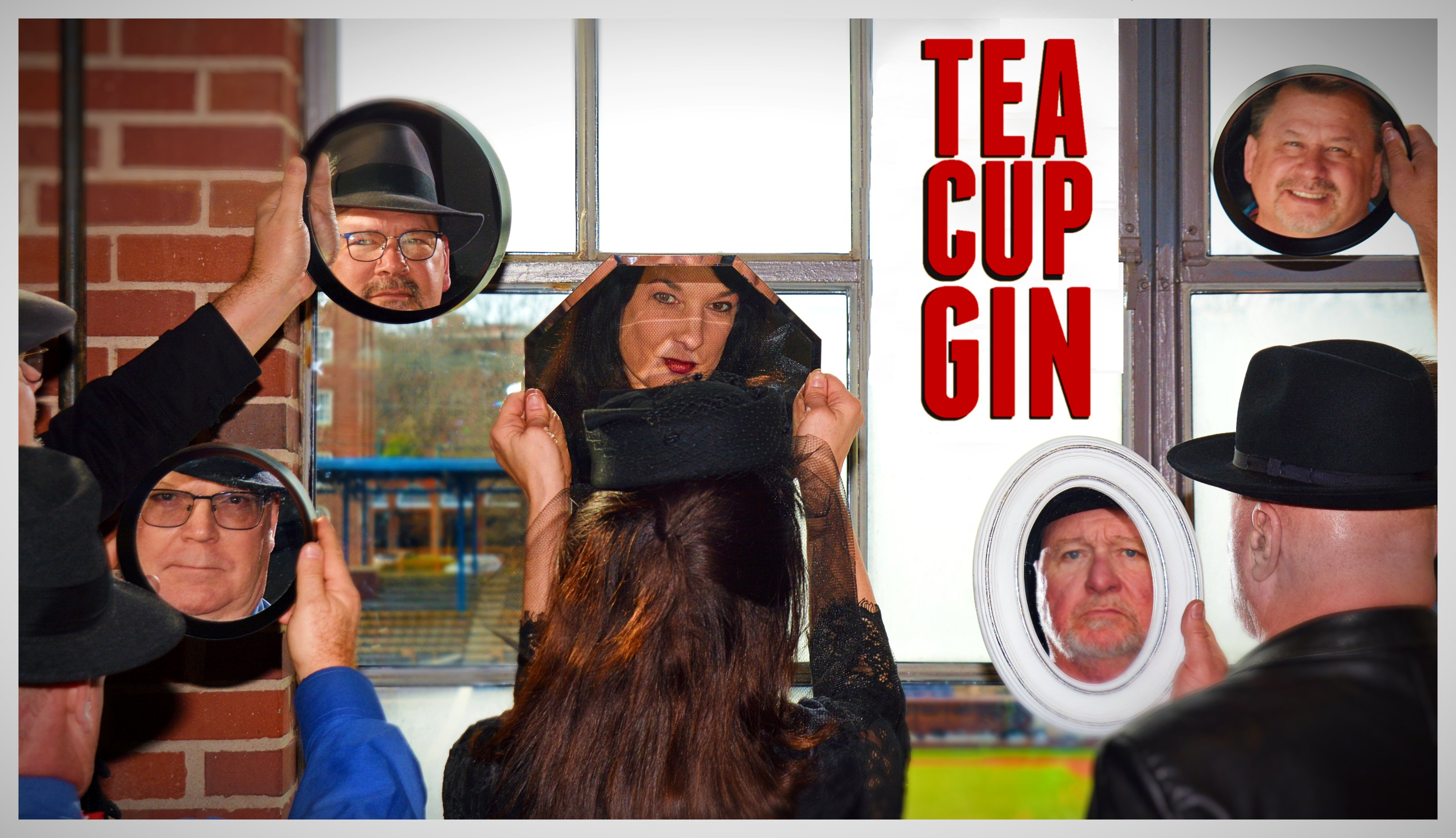 Tea Cup Gin! (Mark, JohnK, ChristyB, MikeR, MikeC)