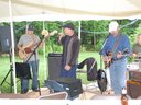 Playing at an aniversary party in Londonderry, NH