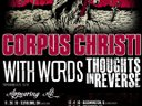 tour this Fall/Winter with Corpus Christi & With Words!!
