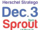 Climbers show, December 3 at Sprout