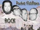 Pocket FishRmen etched in stone
