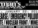 Ticket for January 22's Show