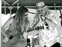 Jenn Cleary with Mad Dog on harmonica