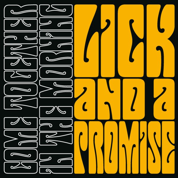 Happens. lick and a promise font