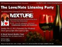 Love/Hate Listening Party Going Down Feb. 13, 2011