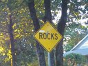 "Everytime I see this sign I say, ""Christine Rocks"".... or Beck Rocks.... or you rock... or something"