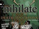 3 local Vancouver bands ABRIOSIS, NIHILATE and RE-ENTRY are ripping it up with DEATH TOLL RISING t
