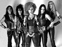 Judas Priestess in black and white