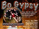 Bo Gypsy show poster for May