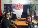 """On """"Chalk Talk"""" w/ Andres and 101.7 The Team."""
