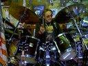 Rocko's Yamaha Stage Custom with Zildjians etc..