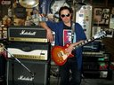 Flying JV's Gibson Les Paul Classic, and Marshall JCM800
