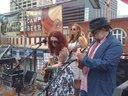 playin uke with Jezabel Jones and Her Wicked Ways