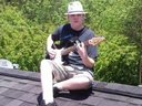 Me On Roof With Guitar