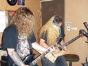 Guitarists Steve and Ian