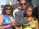 Me, The Wife, & Daughter at Her Graduation. San Antonio, Texas. (Sam Houston High School). 2010