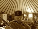 Writing at the Yurt