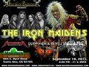 Appearing with The Iron Maidens, Motorbreath and Hurrikane