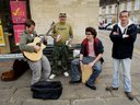 Oundle Town Busking.