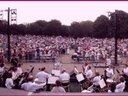 Crowd at performance in Central Park