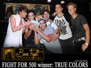 """The winners """"True Colors"""" with $500 cash!"""