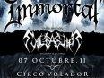 oct 7 opening immortal gig at circo volador mexico df