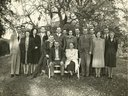 Marci's great grandparents and their 16 kids -- from the Stokes Co./Pilot Mtn N.C. area.