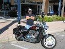 Me and my Honda VTX 1800 = Bad to the Bone !!!