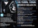 """""""Shred Season"""" available now for FREE at http://ShredTVT.bandcamp.com/."""