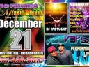 WEDNESDAY DECEMBER 21ST **FREE ADMISSION FREE FREE FREE**(ENTRADA GRATIS) CONTACT 661-480-8013 DJ SP