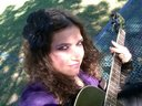 Playing guitar in the park <3 ~