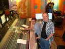 Phil at Strongroom Studios - The Yeah You's album sessions