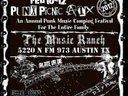 2012 ATX Punx Picnic Flier