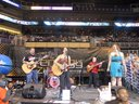 Here we are playing at the 1/2 time show for the Phoenix Mercury game on 07/26/2011!  That was fun!