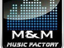 M&M MUSIC FACTORY LOGO