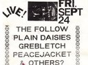 Flyer for a gig that never happened. It would have been a really good show with that line-up too. :(
