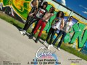 Clyde The First Time demo album 2012 back cover