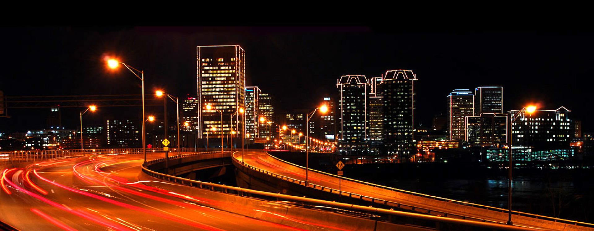 Richmond night skyline copy